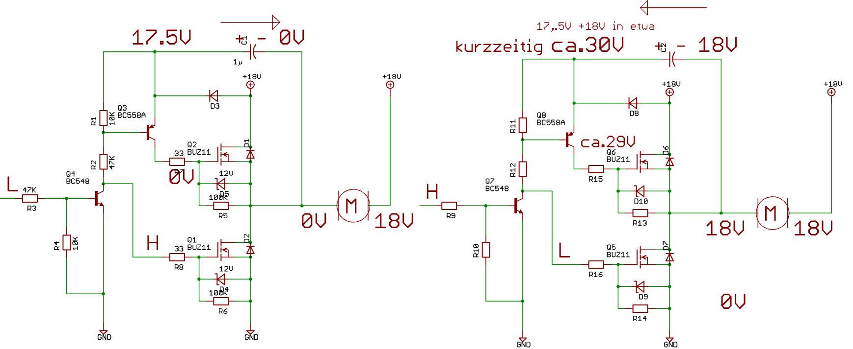 DC-Motor schnell abschalten - Mikrocontroller.net