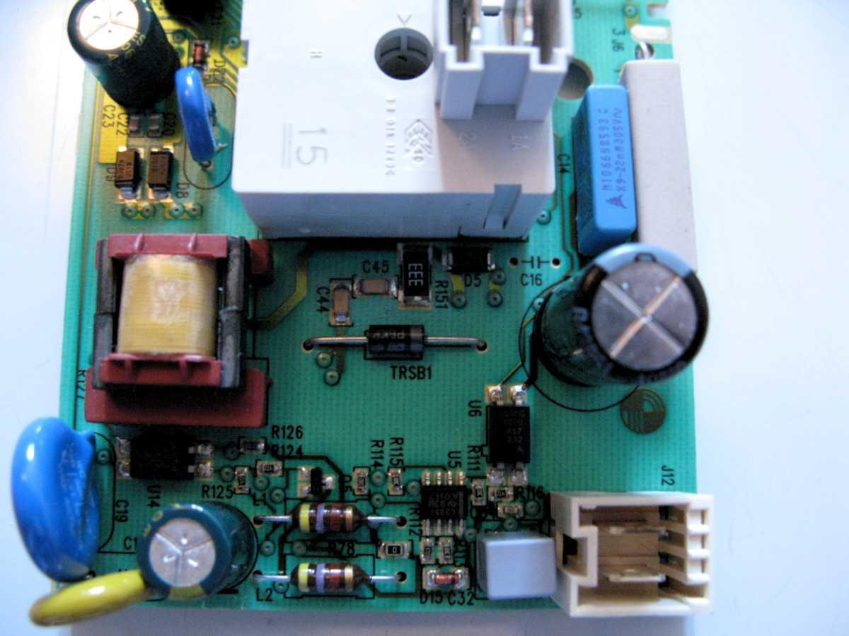 Schaltnetzteil defekt wäschetrockner aeg electrolux