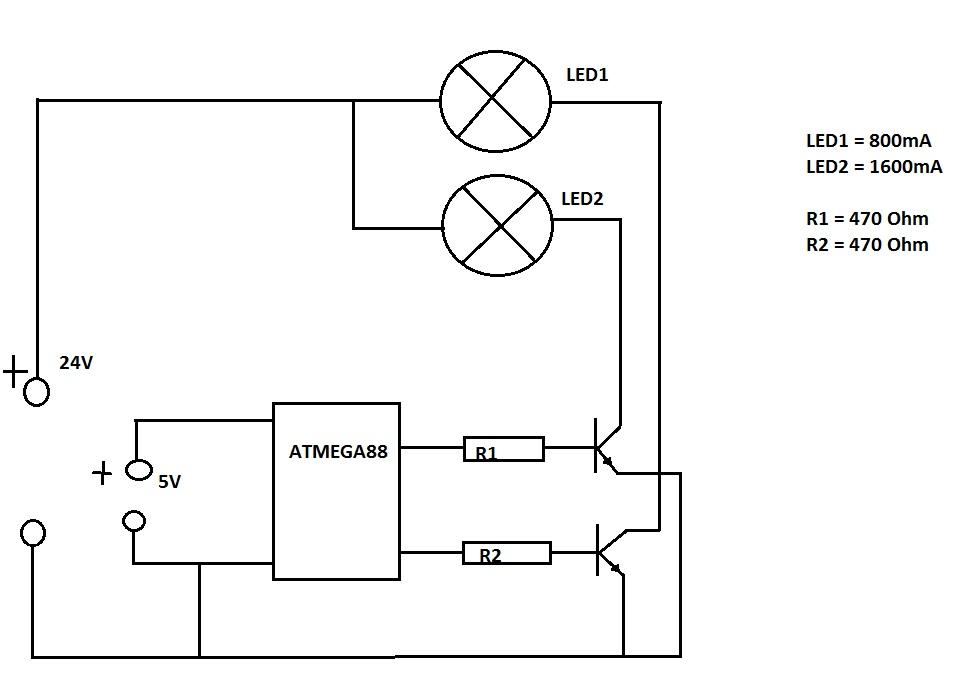 Transistor wird sehr heiß - Mikrocontroller.net