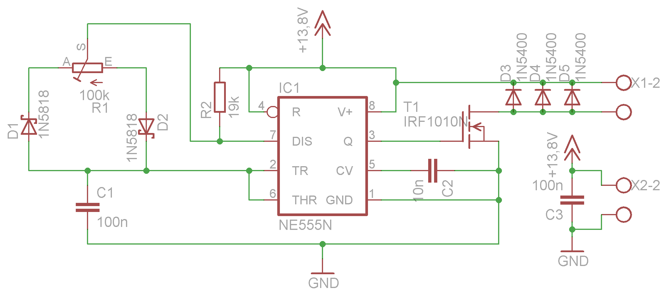 einfacher PWM Motor Drehzahlregler - Mikrocontroller.net