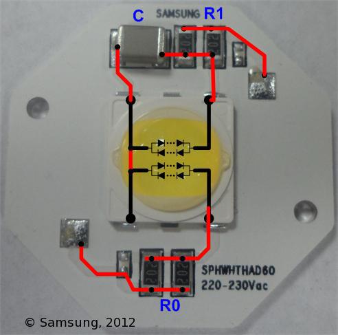 Samsung Hochvolt AC LED Erfahrungen? - Mikrocontroller.net