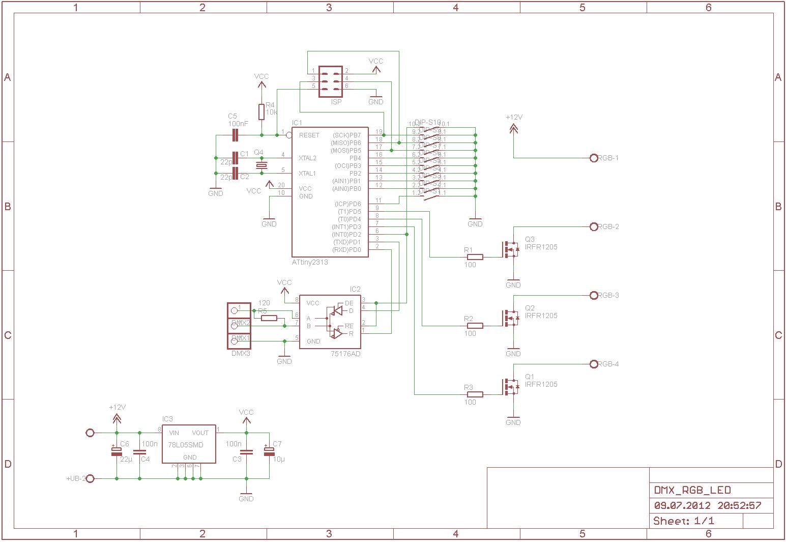 dmx steuerbaren rgb led par oder pinnspot selber bauen