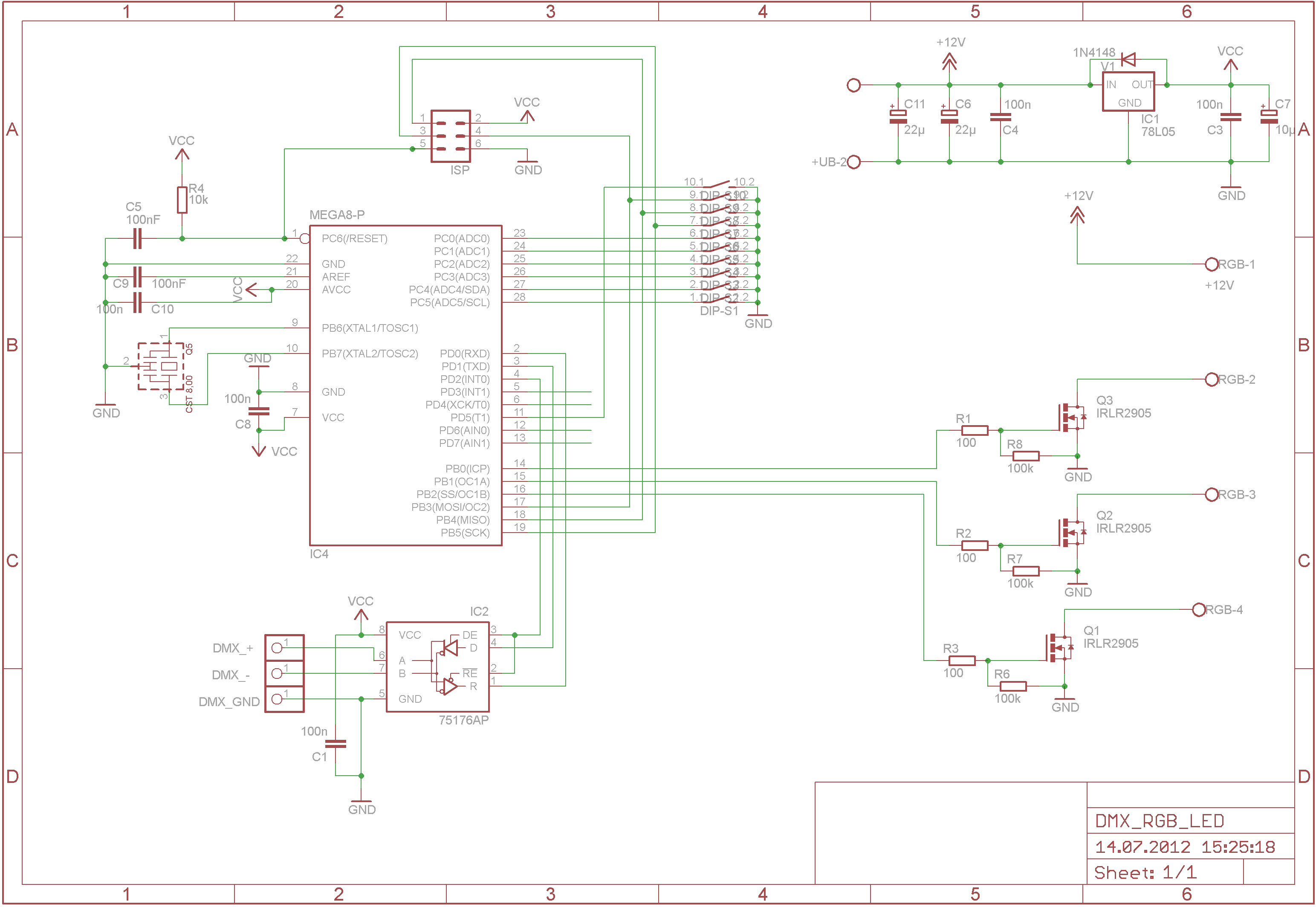 Led Panel 1up besides LED cube additionally Power Switching additionally Driving A Led Strip With Arduino Also With  m as well 2218. on rgb controller schematic