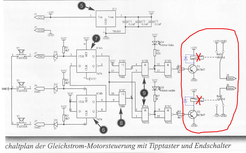 mechanische relais durch elektronik ersetzen