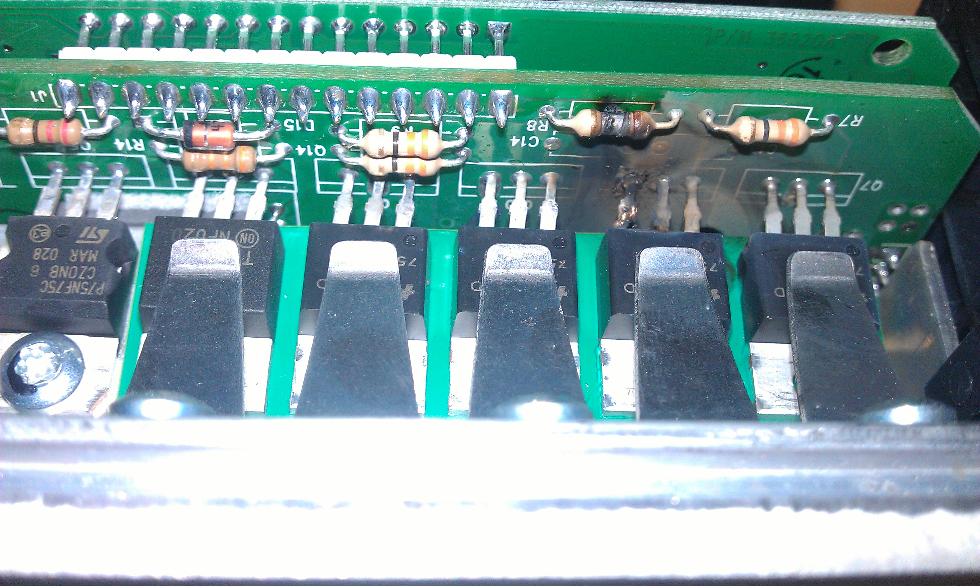 250a curtis motor controller