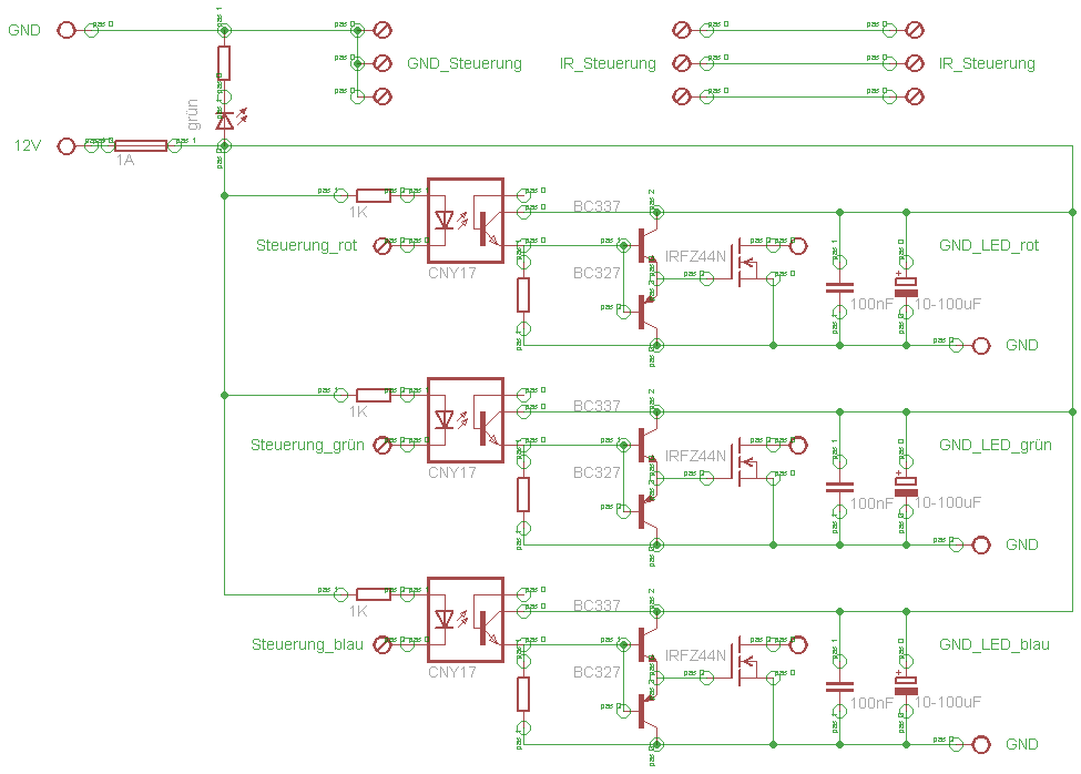 12V mit 5V schalten?! P-kanal MOSFET? - Mikrocontroller.net