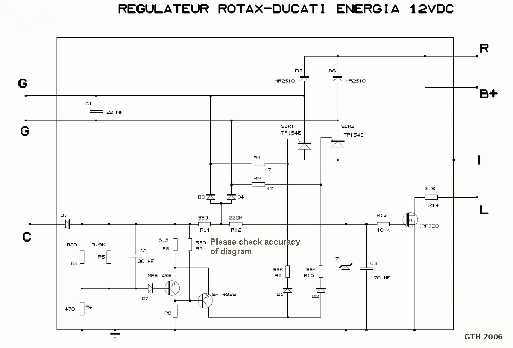 Large Regulator on Ducati Wiring Diagram