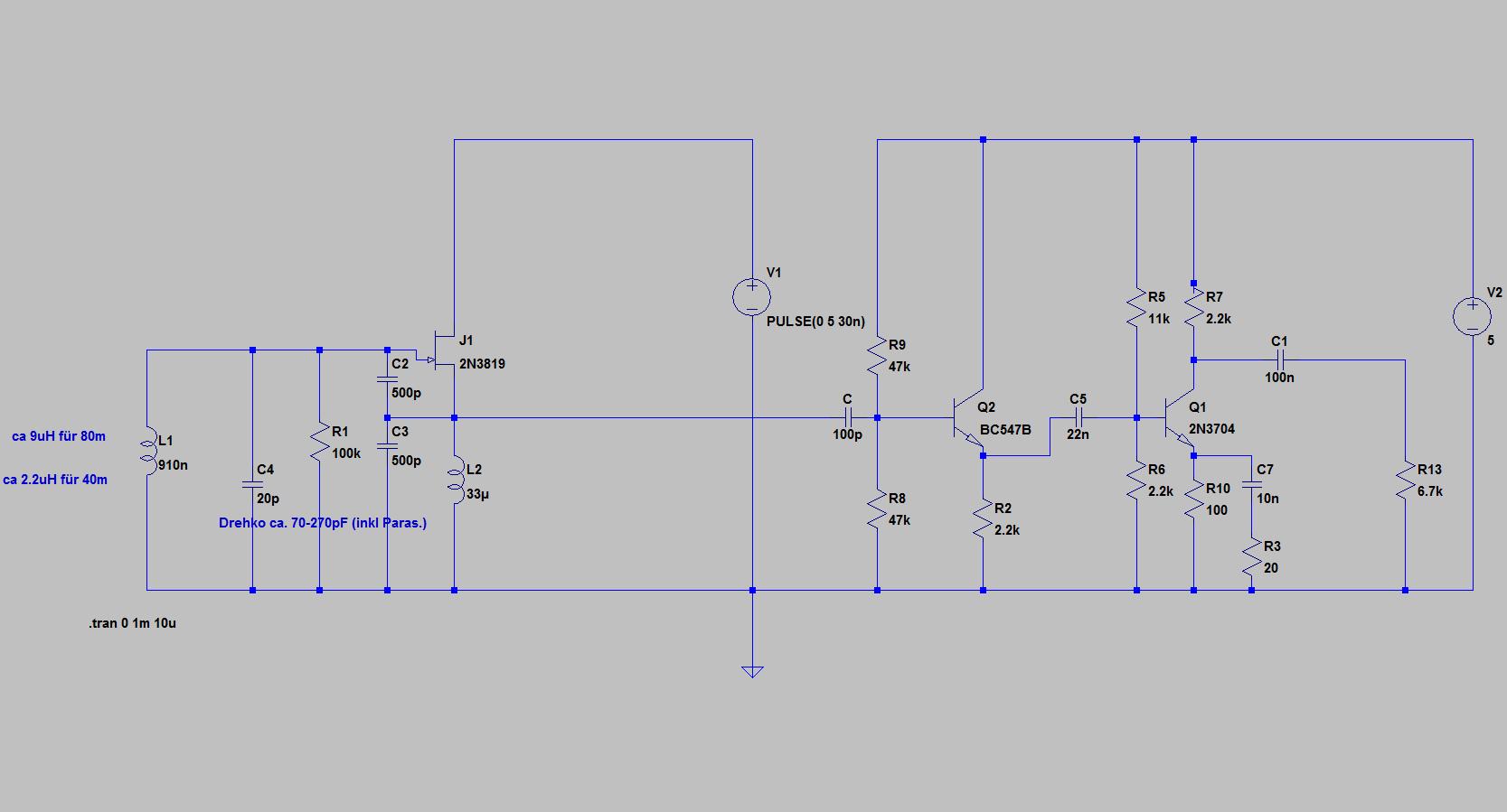 Einfach Mischer Mit 2n3819 Index 39 Amplifier Circuit Diagram Seekiccom Preview Image For Oszi2n3819
