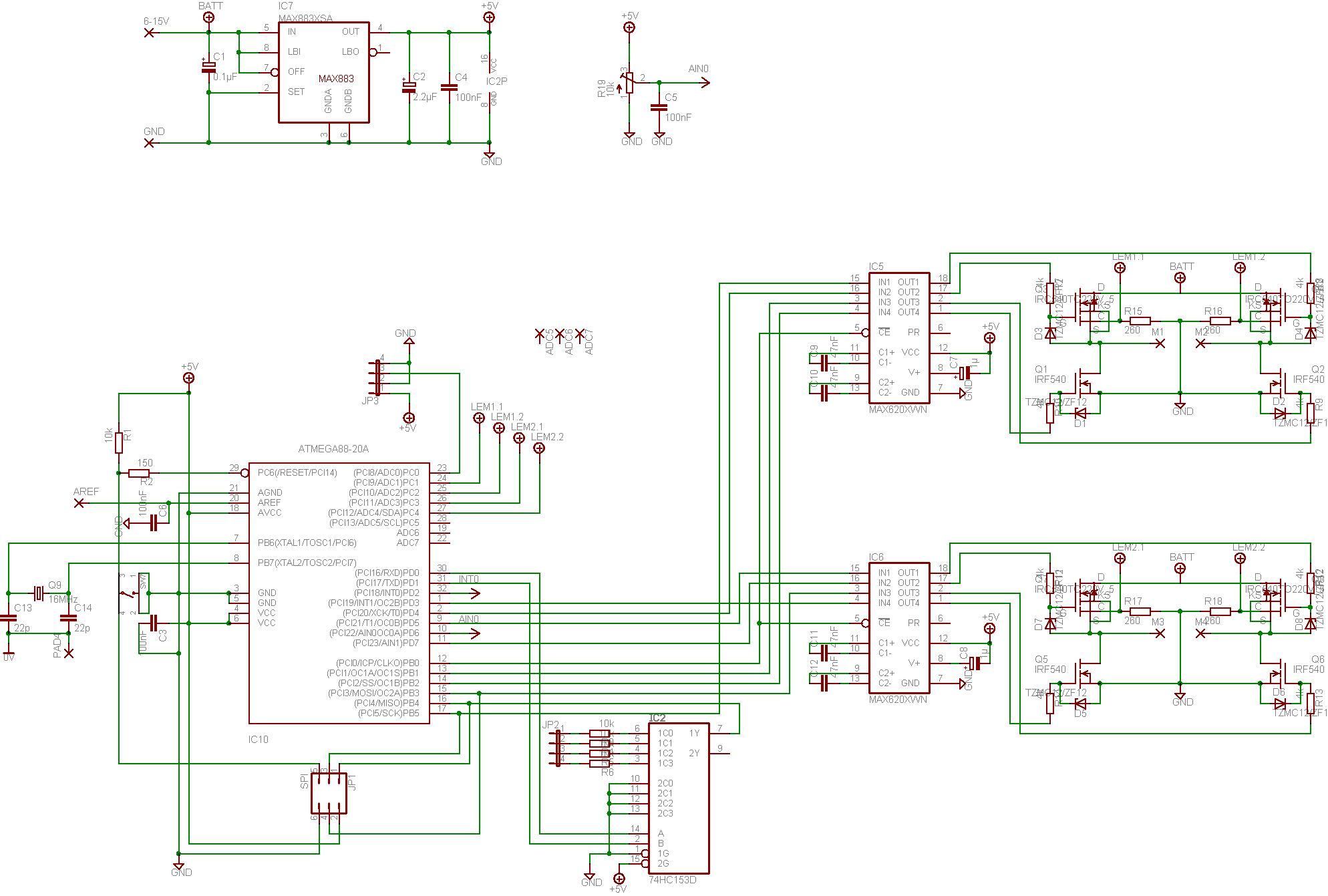 Motorregelung mit MOSFET und OPV - Mikrocontroller.net