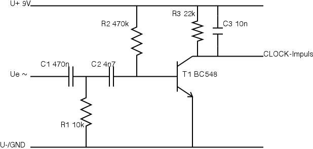 Wechselstrom, RC-Glieder, Transistor-Verstärkung, etc. - Verständnis ...