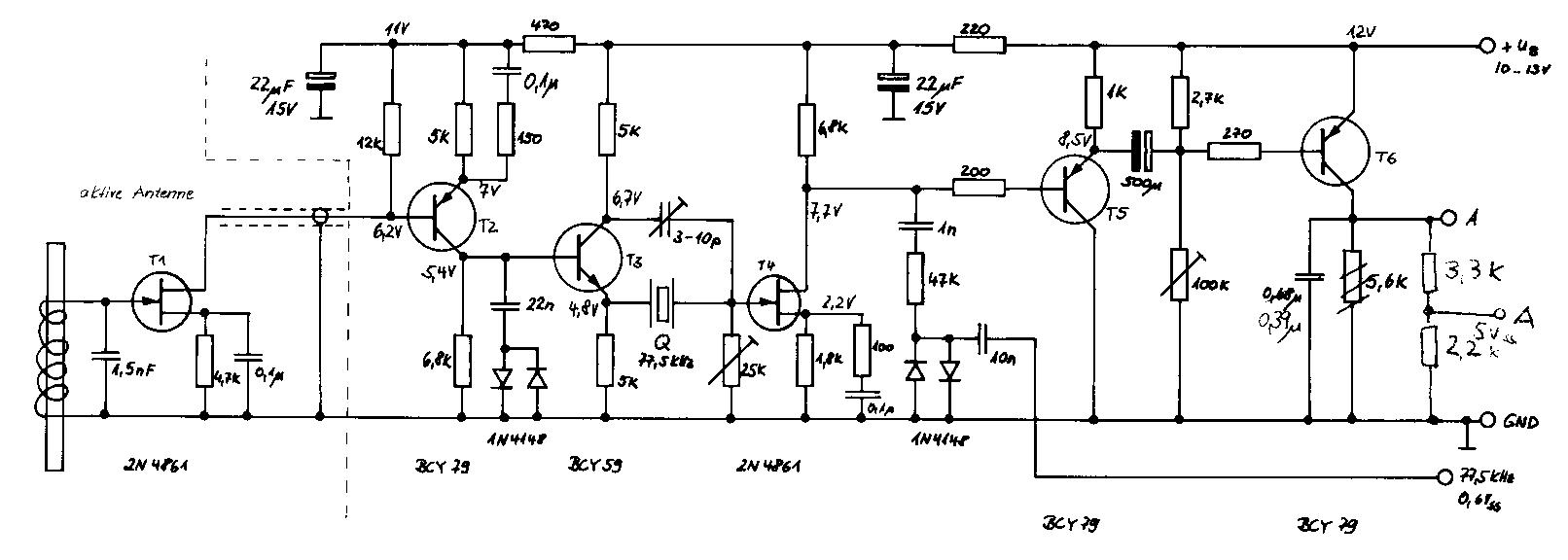 quarzfilter dcf77