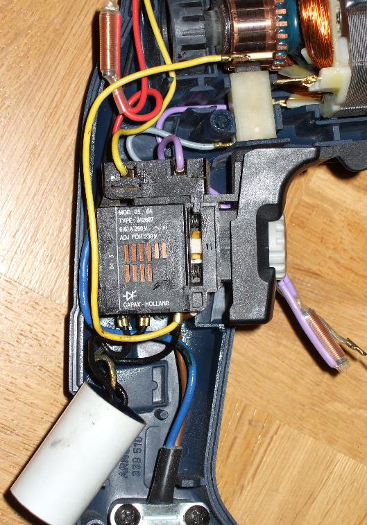 aeg sb 2e 680 r bohrmaschine schalter elektronik abgeraucht. Black Bedroom Furniture Sets. Home Design Ideas