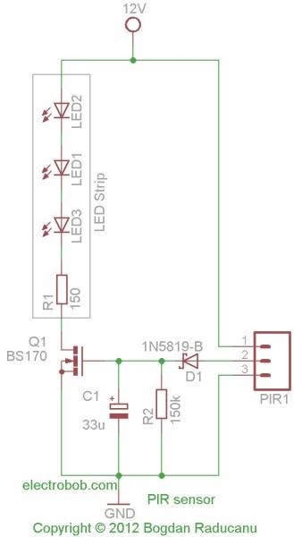 Nett Schaltplan Für Den Pir Sensor Ideen - Die Besten Elektrischen ...