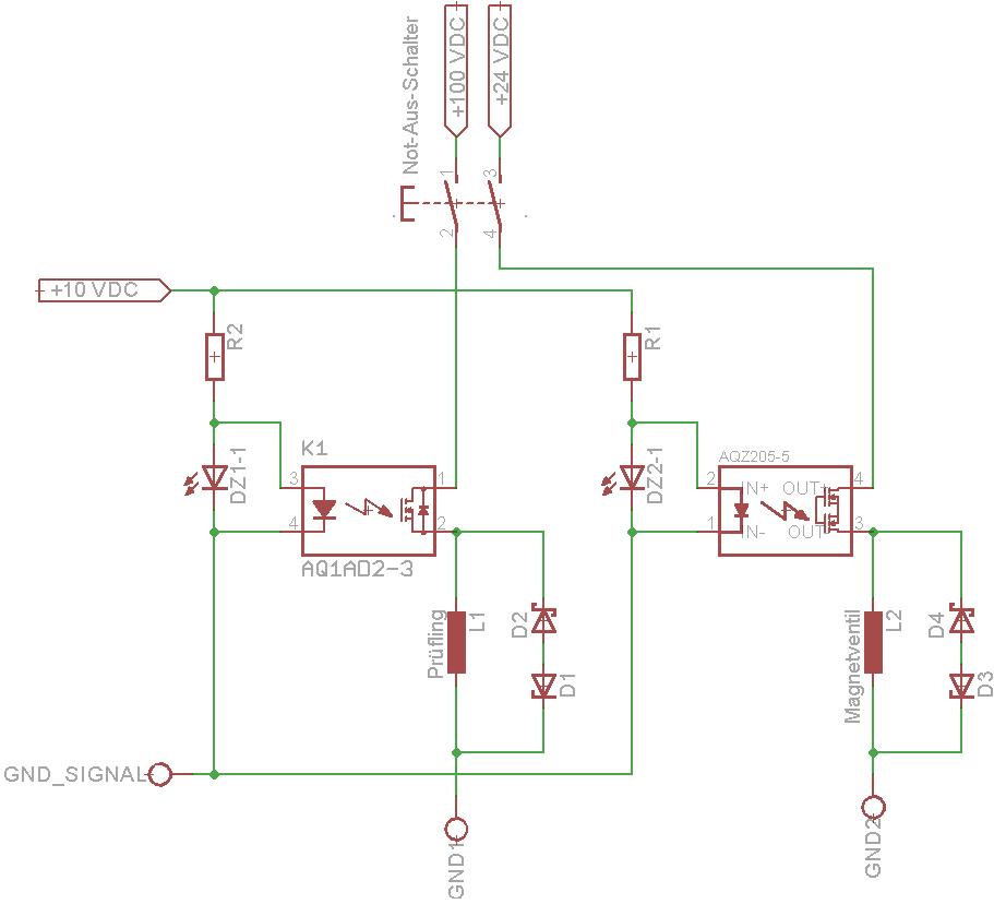 Ein Not-Aus-Schalter für mehrere Stromkreise? - Mikrocontroller.net
