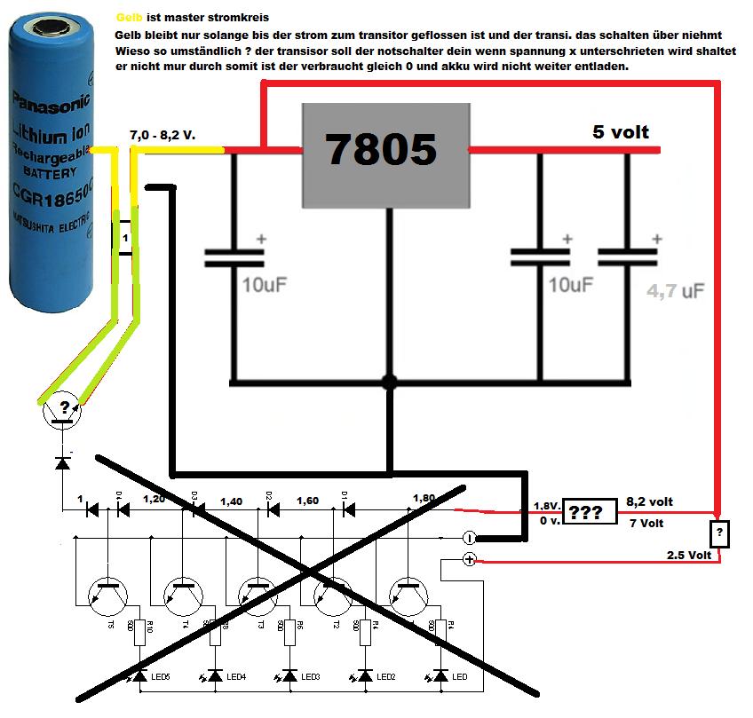 Aus 6 mach 5 volt - Mikrocontroller.net