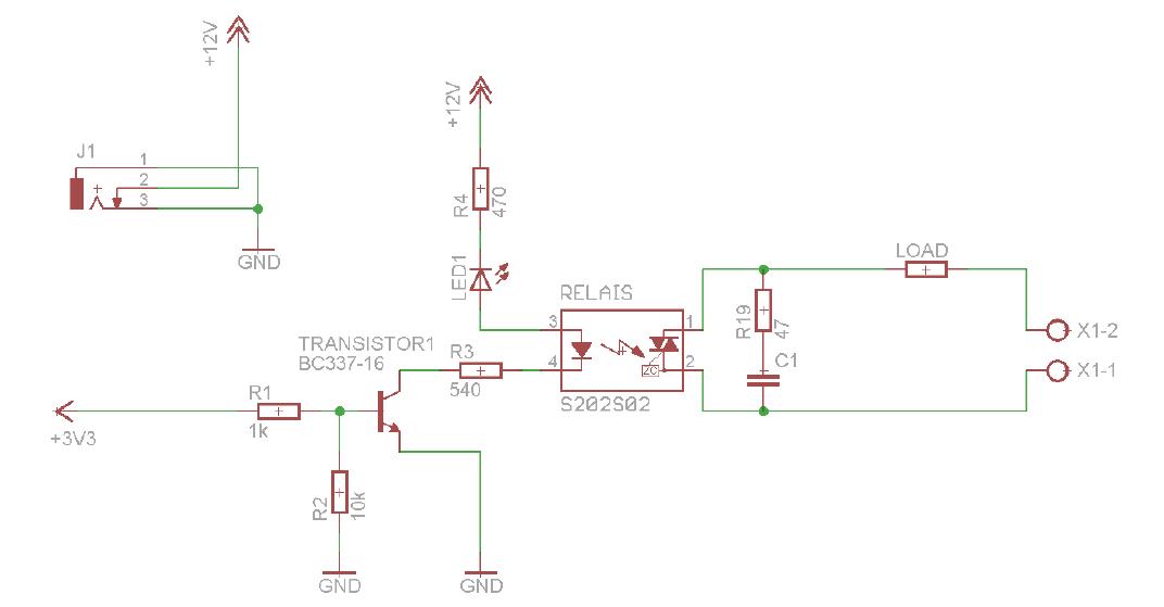 Solid State Relais schaltet nicht. Warum? - Mikrocontroller.net