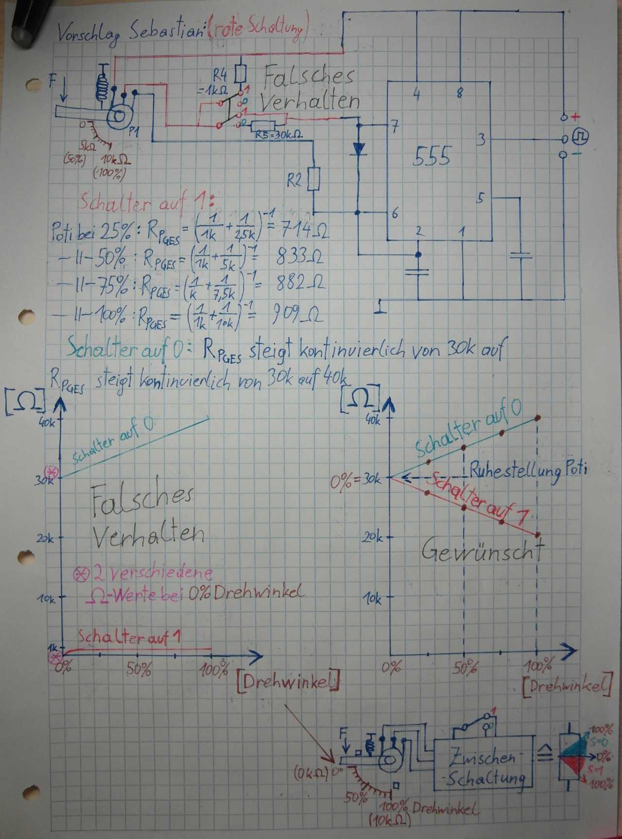 Niedlich Schaltungszeichnung Fotos - Schaltplan Serie Circuit ...