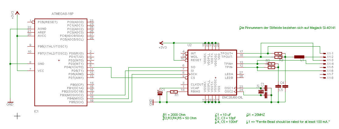 ENC28J60 macht Probleme - Mikrocontroller.net