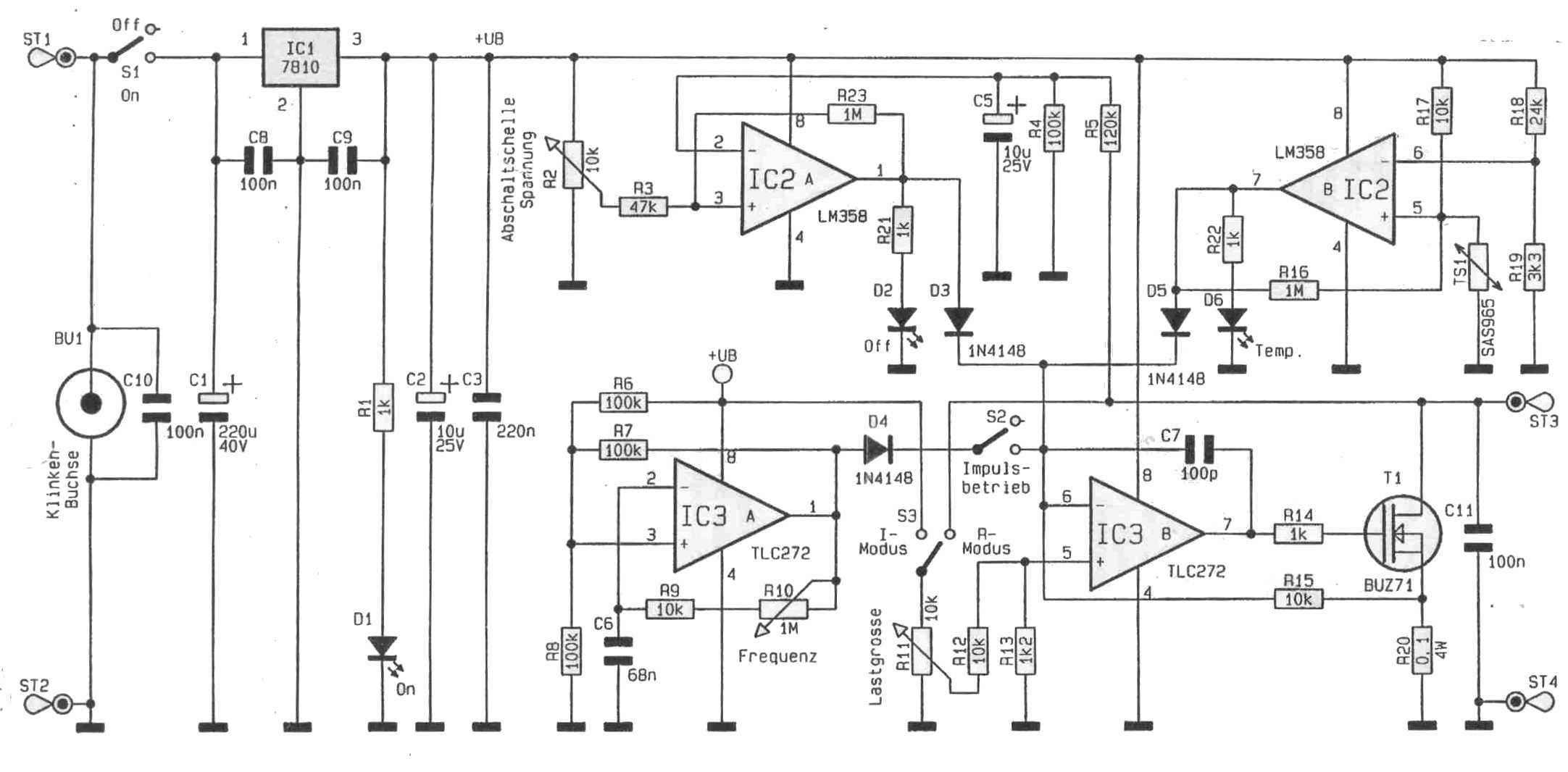 Transistoren für elektronische Last geeignet? - Mikrocontroller.net