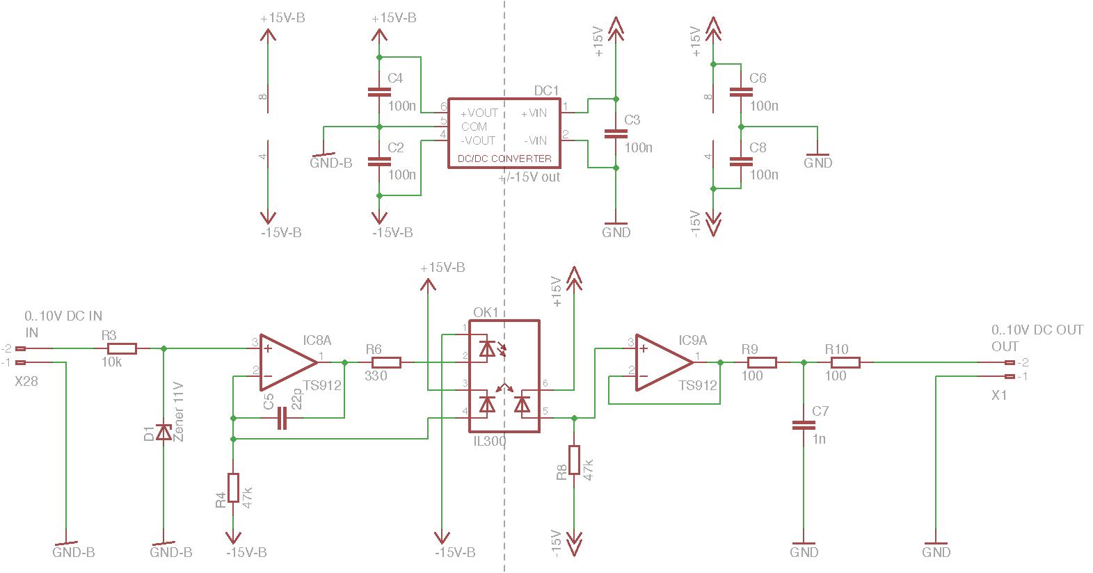 Wind-Sensor mit 4-20mA (1-5V) galvanisch trennen - Mikrocontroller.net