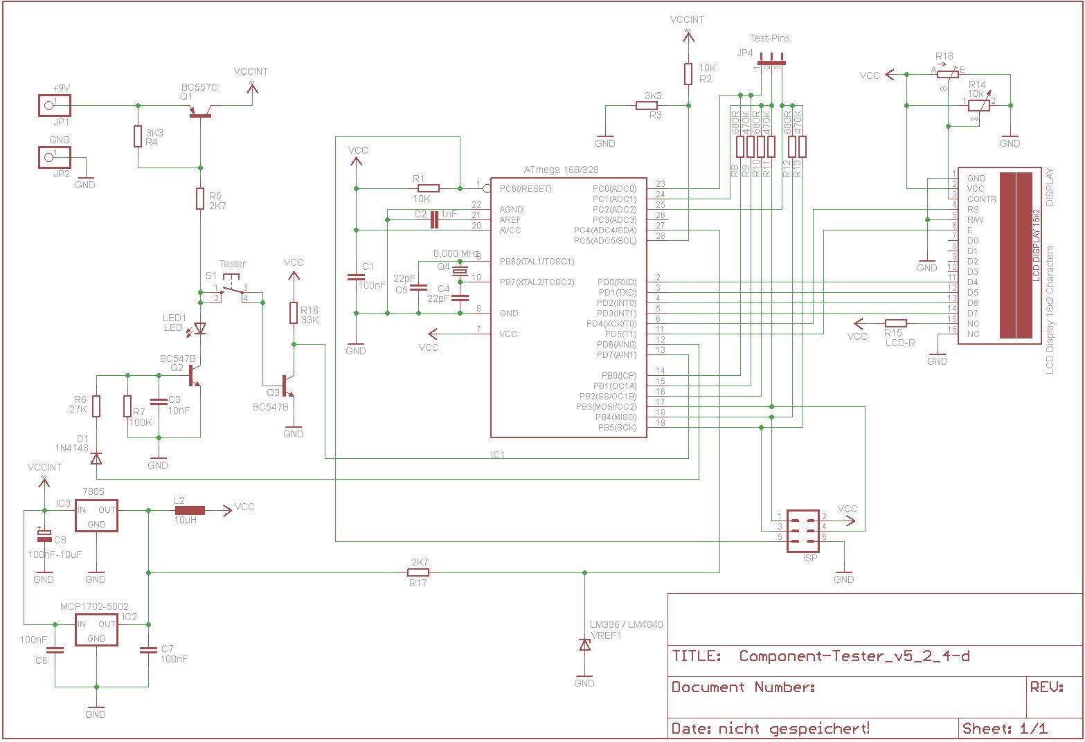 Wunderbar Einfacher Lichtleiter Schaltplan Ideen - Elektrische ...