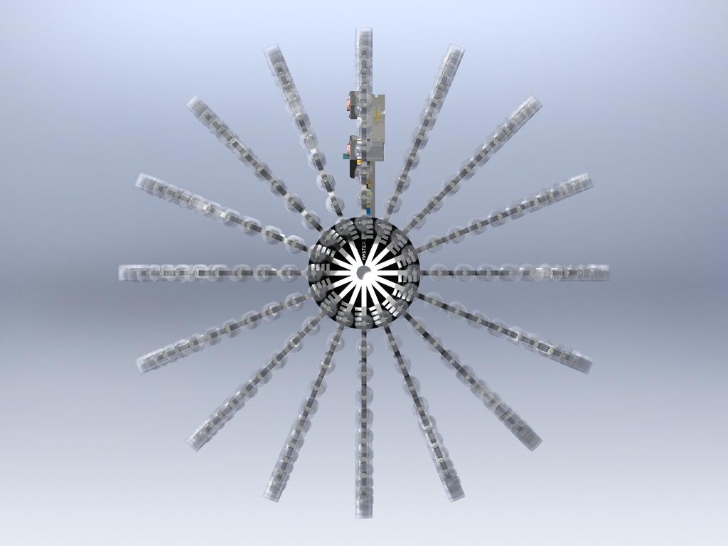 kreis auf kugeloberfläche - mikrocontroller