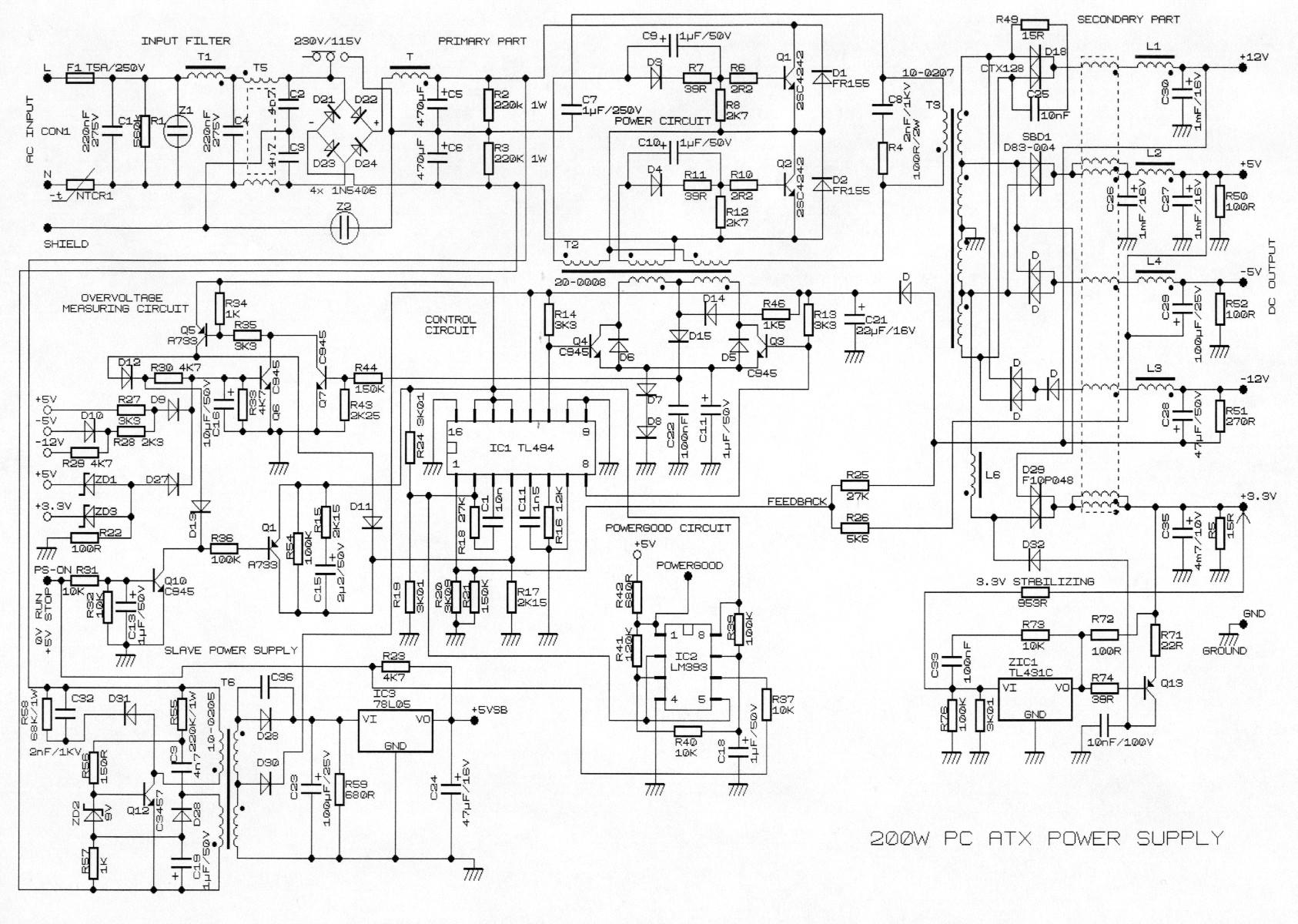 Beste Stromversorgungs Schaltplan Bilder - Der Schaltplan ...