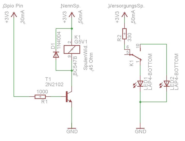 Pin belegung Relais - Mikrocontroller.net