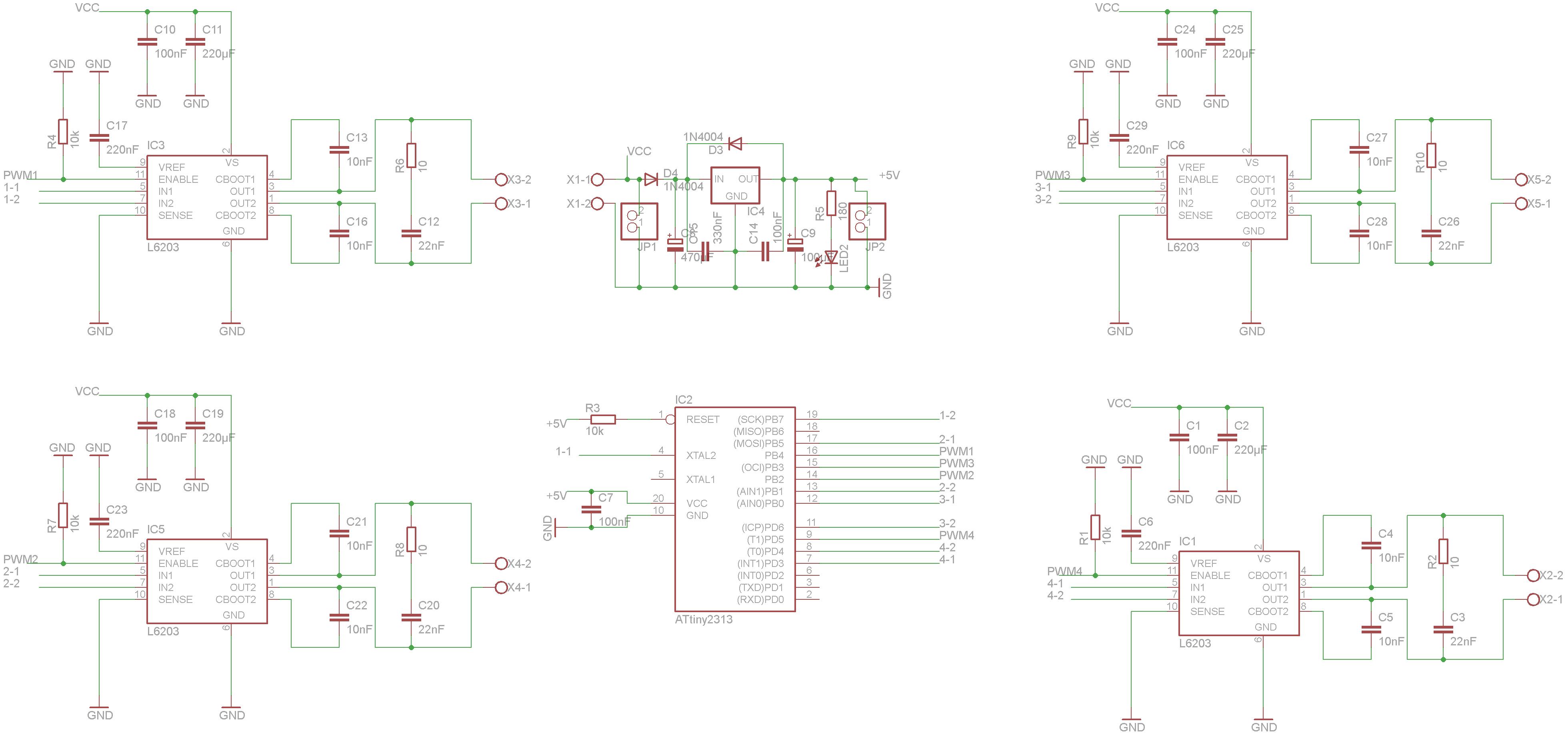 modellbahnsteuerung pwm analog
