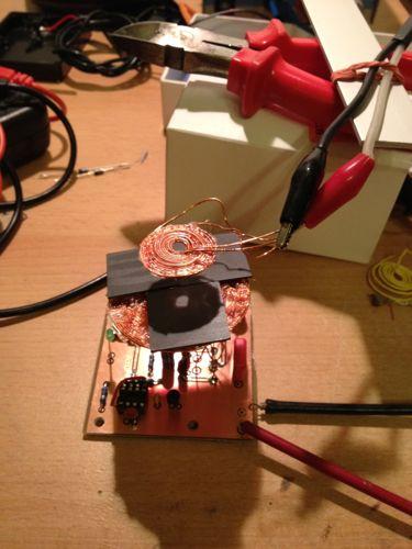 Royer Converter / Induktionsladung Abschirmung - Mikrocontroller.net