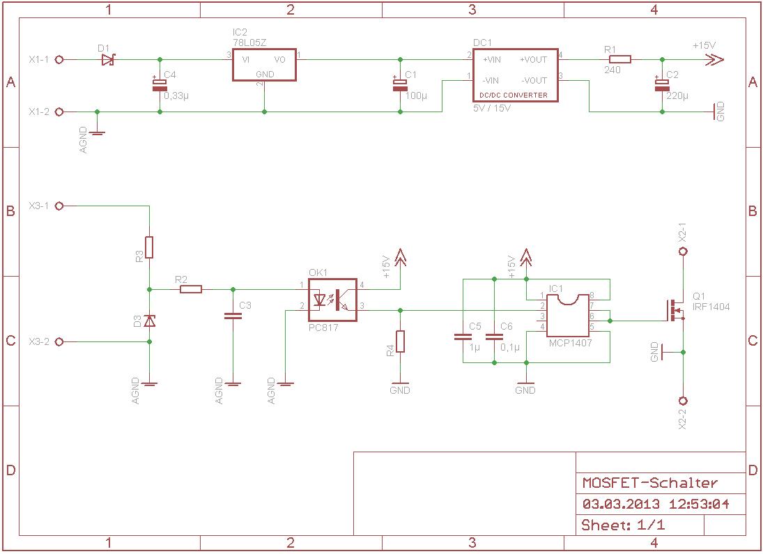 N-Kanal MOSFET als Schalter - Mikrocontroller.net