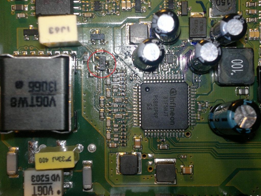 Fritzbox 7270 Defekt - Power  Dsl Blinkt