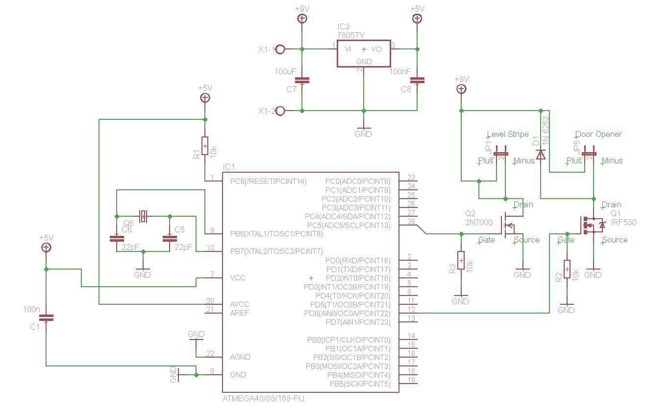 Elektrischer Türöffner für Hobbytresor - Mikrocontroller.net