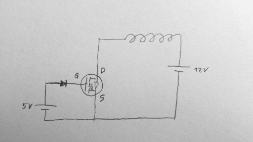 Spule mit Arduino Leonardo betreiben | Welcher MOSFET ...