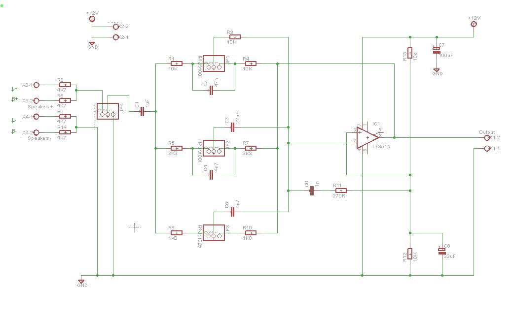 3 Band equalizer mono - kurze überprüfung - Mikrocontroller.net