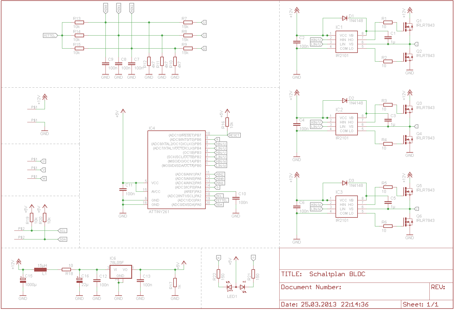 Brushless Regler - Mikrocontroller.net