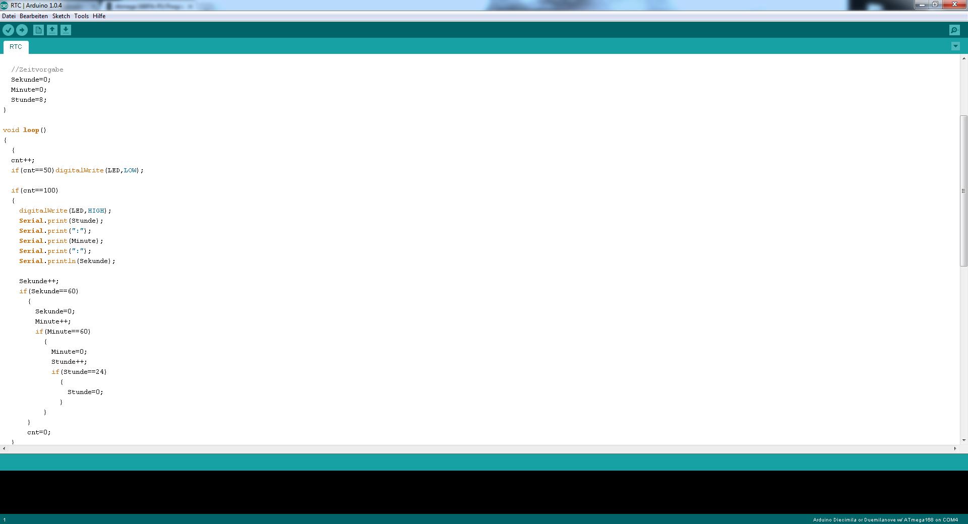 Atmega pa pu programmierung mit arduino für