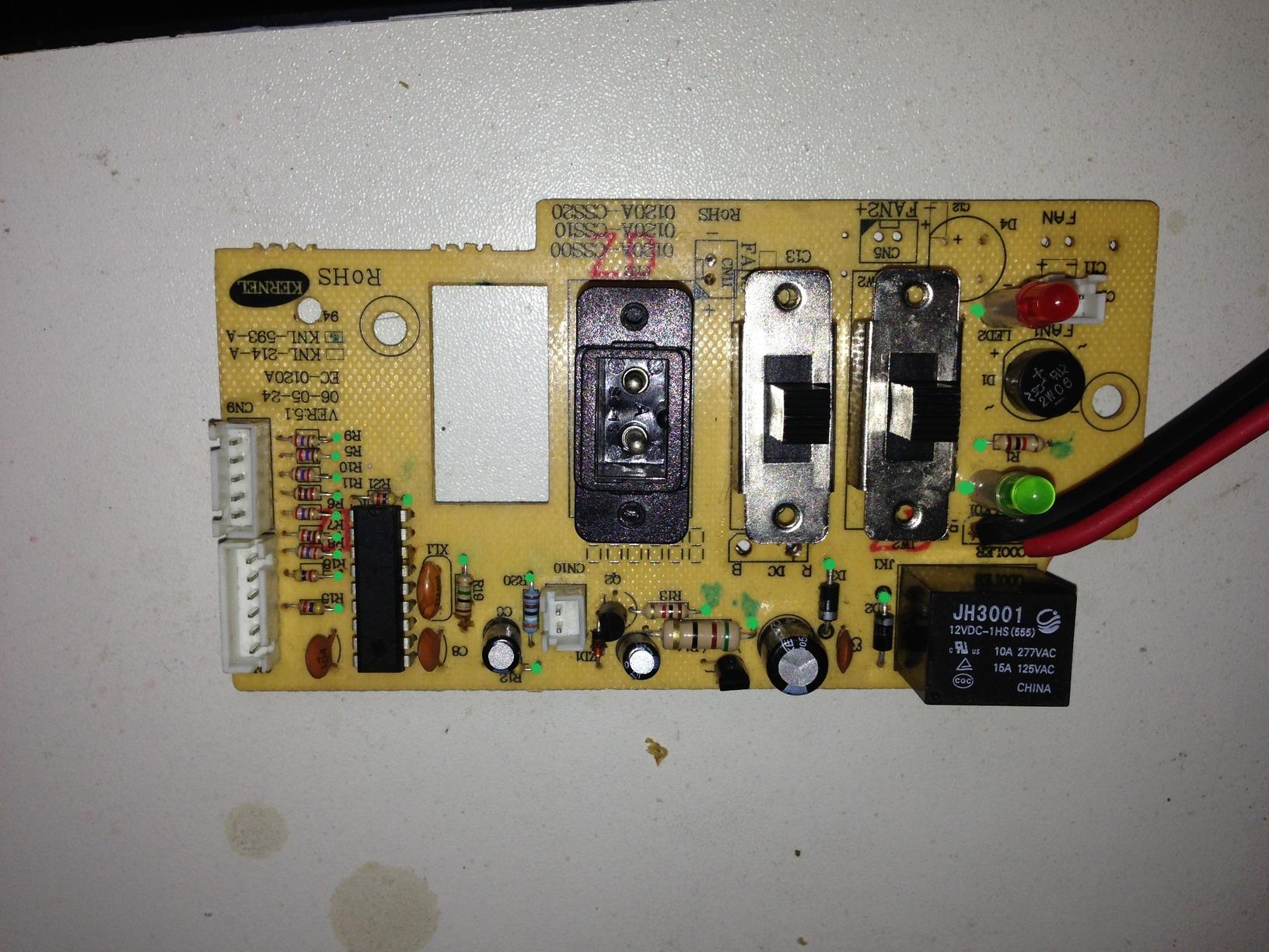 Mini Kühlschrank Conrad : Steuerplatine mini kühlschrank mikrocontroller