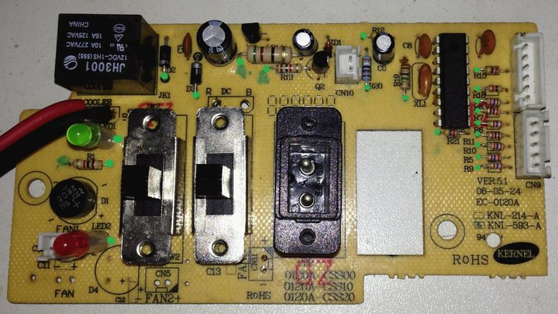 Mini Kühlschrank Mit Peltier Element : Steuerplatine mini kühlschrank mikrocontroller