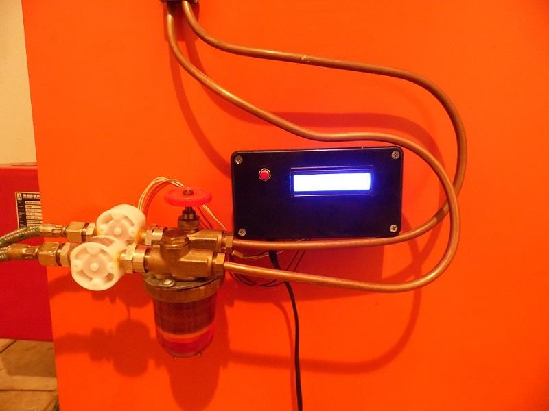 Hervorragend Genaue Ölmengenmessung Heizung - Mikrocontroller.net DW87