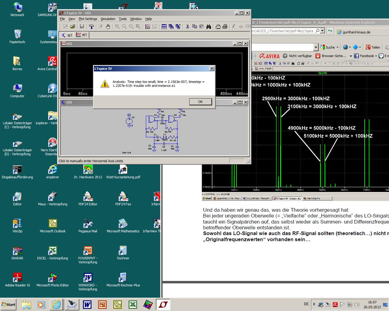 LTspice Simulation Oszillator mit 2 Nandgatter - Mikrocontroller.net