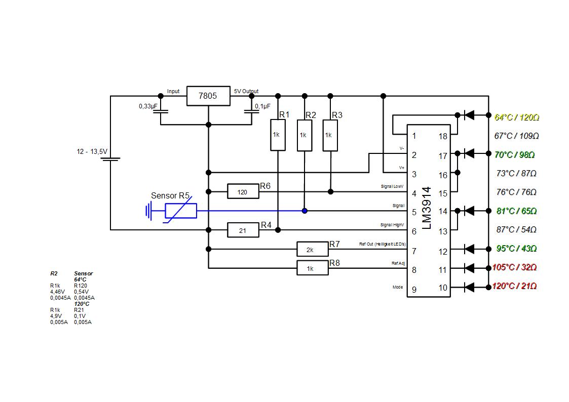 Tolle Sunpro Temperaturanzeige Schaltplan Ideen - Elektrische ...