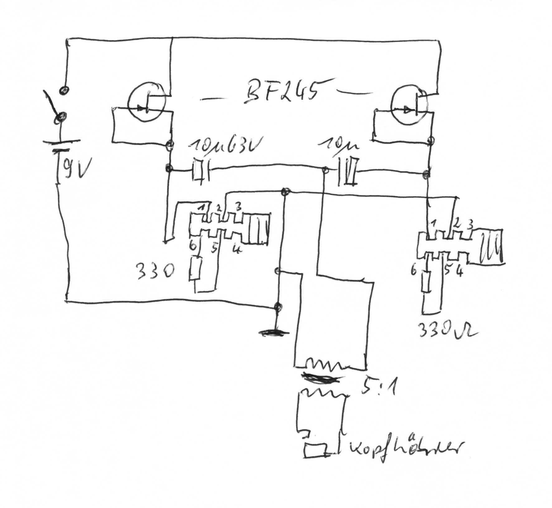 drei alte Telefone verbinden - Mikrocontroller.net