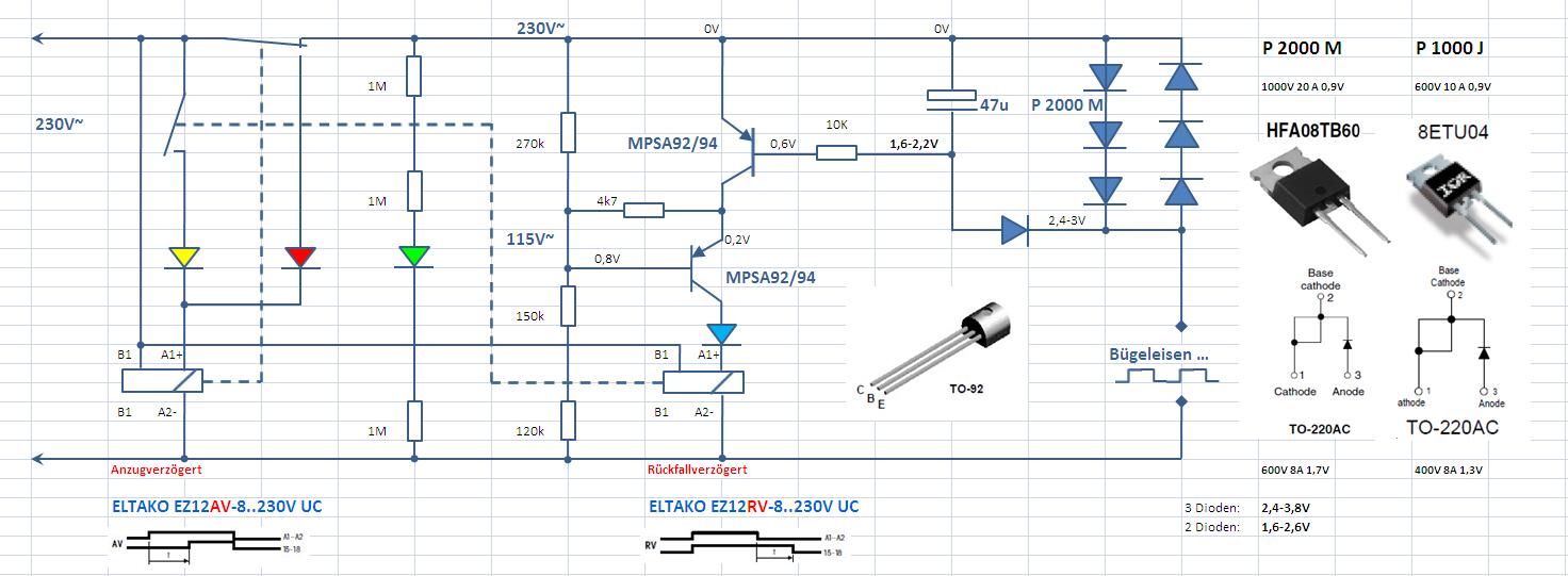 Contdown Timer 230V gesucht - Mikrocontroller.net