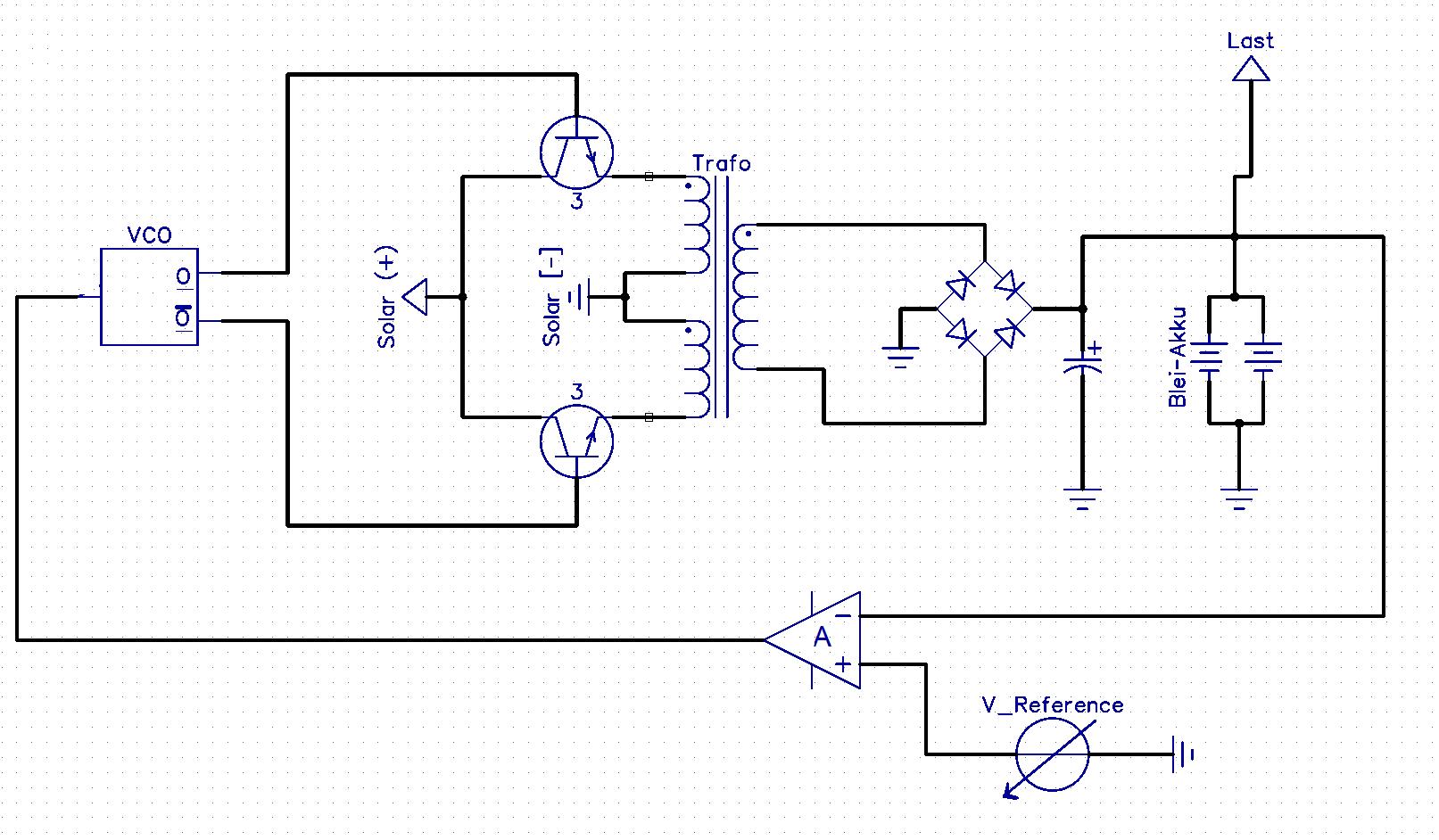 Bitte um Kritik] Einfacher Solar-Laderegler (mit Schaltplan ...