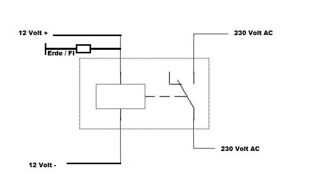 12 volt relais mit zener diode gegen erde absichern. Black Bedroom Furniture Sets. Home Design Ideas