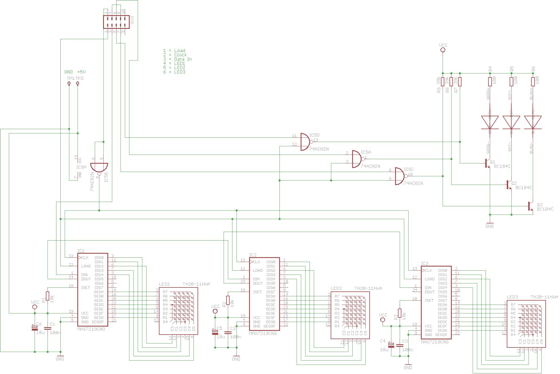Anzeigetafel über lange Leitungen ansteuern - Mikrocontroller.net