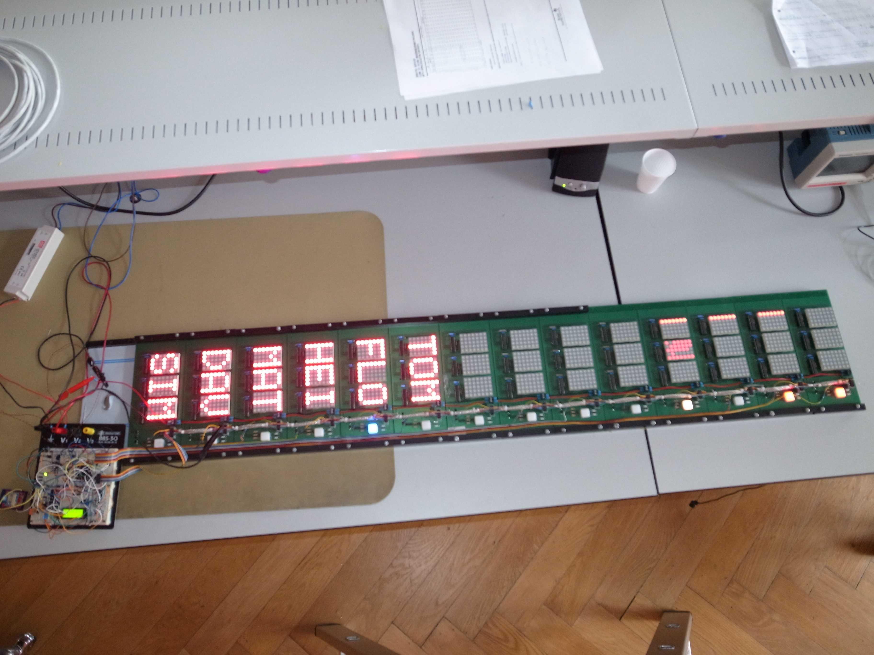 Anzeigetafel Ber Lange Leitungen Ansteuern Konstantstromquelle Fuer Power Led Mikrocontrollernet 5v