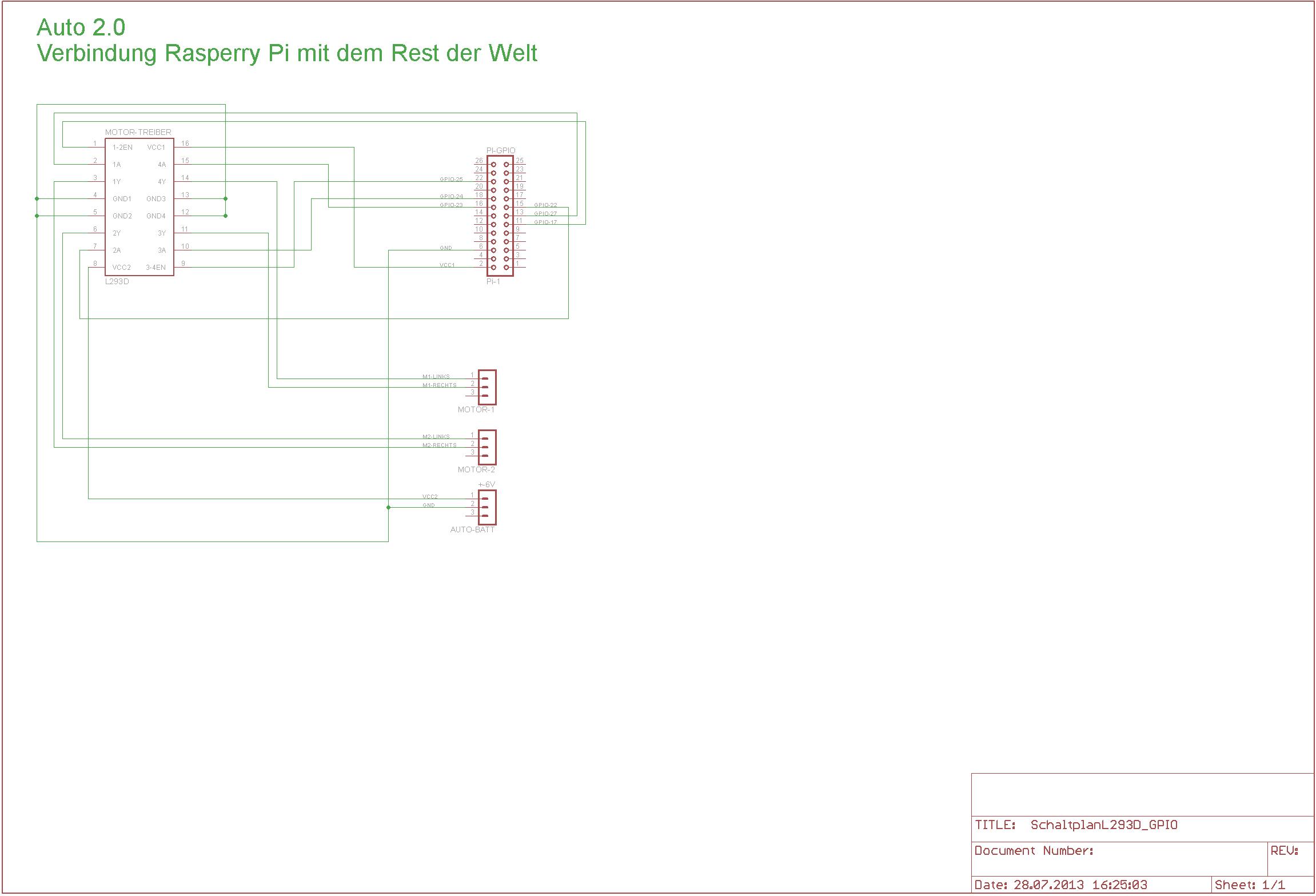 Motor ansteuern mit RPi & L293D - Mikrocontroller.net