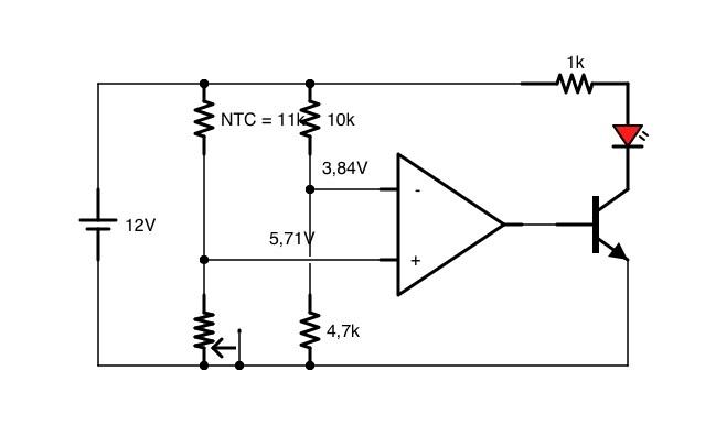 hilfe zu thermoschaltung ntc lm324